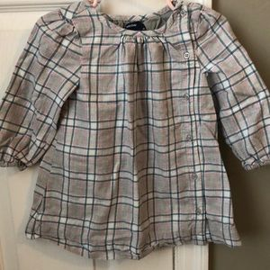 GAP Dresses - Gap plaid cotton dress